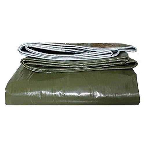 ZLININ Y-Longhair Heavy Duty Lona - A Prueba de Polvo a Prueba de Lluvia Impermeable, Anti-envejecimiento de Aislamiento - Pesca Que acampa de jardinería (Color: A, Tamaño: 3x3m)