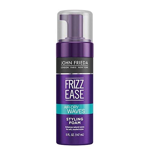 John Frieda Frizz Ease Dream Curls Air Dry Waves Styling Foam, 5 Ounce