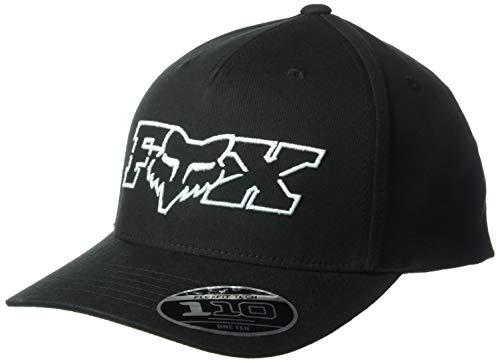 Fox Duel Head 110 Snapback Gorra de béisbol para Hombre, Hombre, Gorra de béisbol, 22459, Negro/Azul, Talla única