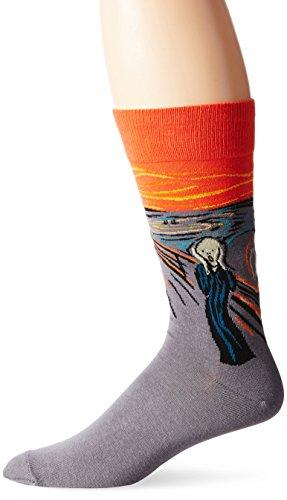 Hot Sox The Scream Herren-Socken Gr. 39-46,5, Sortiert 1