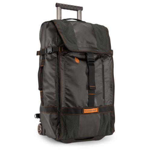 Timbuk2 Aviator Wheeled Backpack, Carbon/Carbon Ripstop, Large
