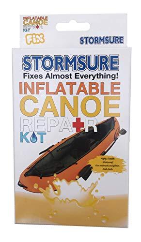 Stormsure Kit de reparación de canoa inflable impermeable Sail Surf Kite barco rkcanoe