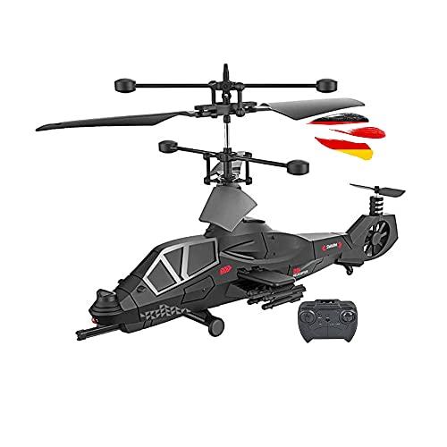Syma Control Remoto, Canal 3.5, Mini Blackhawk teledirigido Blackhawk UH-60, helicóptero Militar Apache con la última tecnología Gyro, RTF, Juego Completo