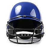 YJKL Casco de fútbol americano para adultos, casco de softbol, casco de béisbol, protección facial, protector de cabeza ABS, tres colores, protección deportiva