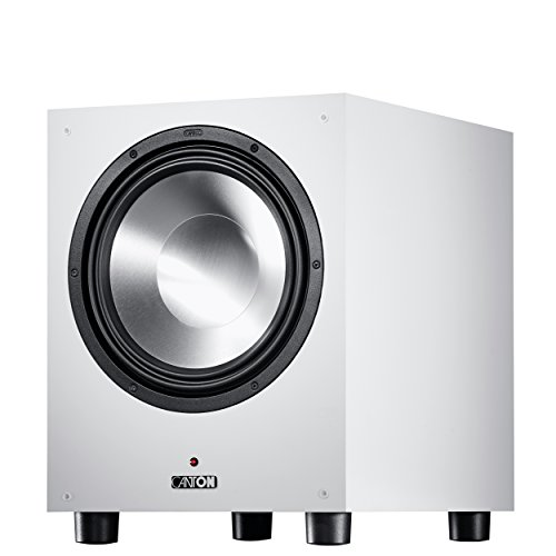Canton SUB 12.3 weiss Aktiv Subwoofer