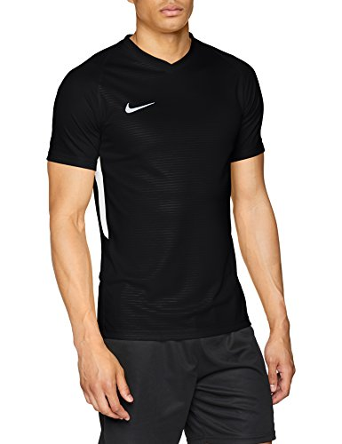 Nike Tiempo Premier Jersey SS Maillot Homme, - Noir - FR : L (Taille Fabricant : L)