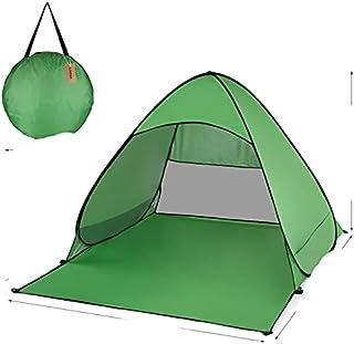 1PS utomhus omedelbart pop-up öppet tält 165 x 150 x 110 cm strandtält skydd camping fiske resa trädgård tält