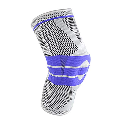 Houshelp Knee Brace Compression Sleeve Best Support Braces for Meniscus Tear ArthritisPain Relief Recovery Sleeves Basketball