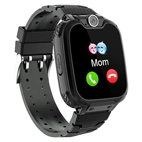 jeerbly Kinder-Smartwatch mit Handy-Smartwatches, Musik-Player, Mathematikspiele, Anrufkamera, Wecker, Rekorder, Taschenrechner für Geburtstagsgeschenk, Spielzeug