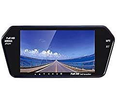 LOWRENCE Android GPS Navigation Car Mirror-Link/AM FM Radio (7inch)