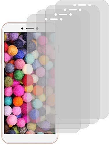 4ProTec I 4X ANTIREFLEX matt Schutzfolie für General Mobile GM 9 Go Bildschirmschutzfolie Displayschutzfolie Schutzhülle Bildschirmschutz Bildschirmfolie Folie