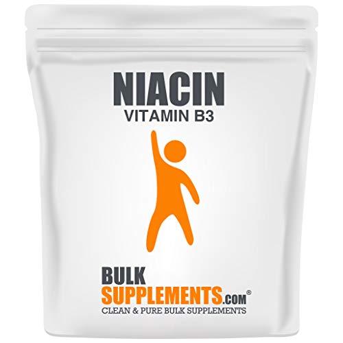 Bulksupplements Niacin (Vitamin B3) Powder (1 Kilogram)
