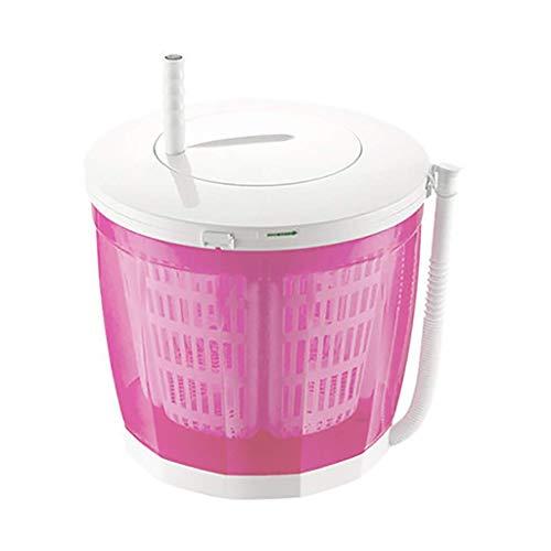 YLCJ Lavatrice Eco Portatile, Mini Lavatrice Manuale a manovella Lavatrice Non elettrica e centrifuga Risciacquo e centrifuga per Appartamenti da Campeggio