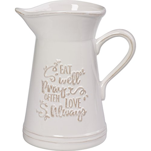 Precious Moments Ceramic Kitchen Utensil Holder Or Pitcher, One Size