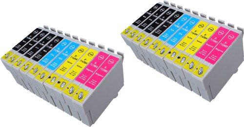 20 Multipack de alta capacidad Epson T0715 , T0895 Cartuchos Compatibles 8 negro, 4 ciano, 4 magenta, 4 amarillo para Epson Stylus D120, Stylus D78, Stylus D92, Stylus DX4000, Stylus DX4050, Stylus DX4400, Stylus DX4450, Stylus DX5000, Stylus DX5050, Stylus DX6000, Stylus DX6050, Stylus DX7000F, Stylus DX7400, Stylus DX7450, Stylus DX8400, Stylus DX8450, Stylus DX9400F, Stylus Office B40W, Stylus Office BX300F, Stylus Office BX310FN, Stylus Office BX600FW, Stylus Office BX610FW, Stylus S20, Stylus S21, Stylus SX100, Stylus SX105, Stylus SX110, Stylus SX115, Stylus SX200, Stylus SX205, Stylus SX210, Stylus SX215, Stylus SX218, Stylus SX400, Stylus SX405, Stylus SX405WiFi, Stylus SX410, Stylus SX415, Stylus SX510W, Stylus SX515W, Stylus SX600FW, Stylus SX610FW. Cartucho de tinta . T0711 , T0712 , T0713 , T0714 , T0891 , T0892 , T0893 , T0894 , TO711 , TO712 , TO713 , TO714 , TO891 , TO892 , TO893 , TO894 © 123 Cartucho
