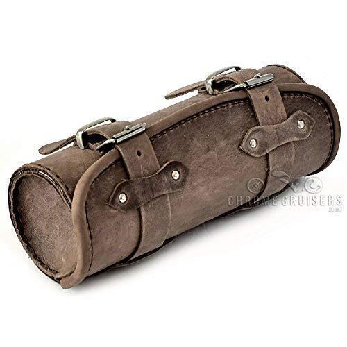 Motorrad Exklusive Original Braun Leder Werkzeugtasche/Tasche