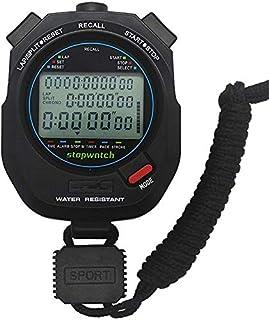 JINHAN الرياضة للماء ساعة توقيت ساعة توقيت ماء اليد الرقمية ساعة الرياضة توقيت توقيت مع عرض كبير للأطفال الرياضة في الهواء...