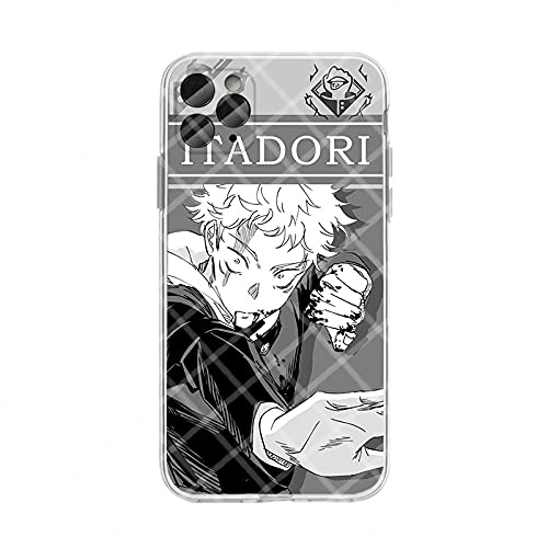 Cool Japan Anime Jujutsu Kaisen Ryomen Sukuna Phone Case for iphone 12 11 Pro X Xs Max XR 7 8 Plus SE 2020 Silicon Soft Cover-A03_For_iPhone_11_