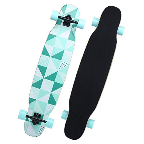 Sale!! SSLLPPAA Adult Entry-Level Skateboard Longboard Boys and Girls Road Brush Street Four-Wheeled...