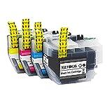 RICR Cartuchos De Tinta Remanufacturados 3317 para Reemplazo LC3317, Compatibles para Brother MFC-J5330DW MFC-J5730DW MFC-J6530DW MFC-J6730DW MFCJ6930DW 1set