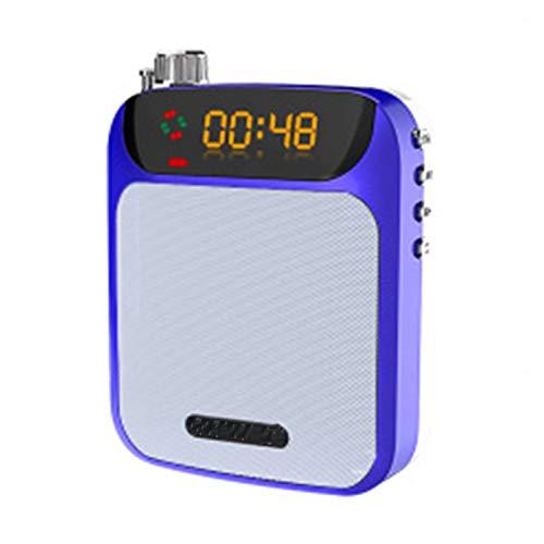 ZED- Amplificador portatil con 1800 mAh batería de Litio con un microfono para guías Maestros Profesores Artistas animadores promotores de Ventas, etc