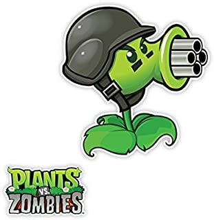 Plants vs. Zombies Wall Decals: Gat (12 in x 12 in)