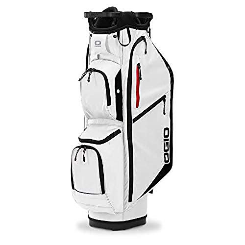 OGIO Sac de Chariot de Golf Fuse 14 (2020), Blanc Taille Unique