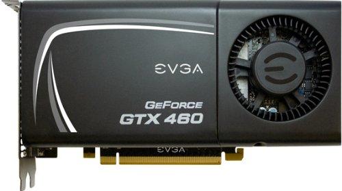 EVGA Nvidia GeForce GTX 460 Grafikkarte (PCI-e, 1024MB GDDR5 Speicher, 2x DVI, Mini HDMI, 1 GPU)