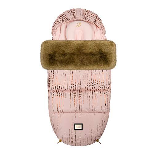 Bjällra Of Sweden Saco de pies perfecto 8069904, color oro rosa, 1200 g