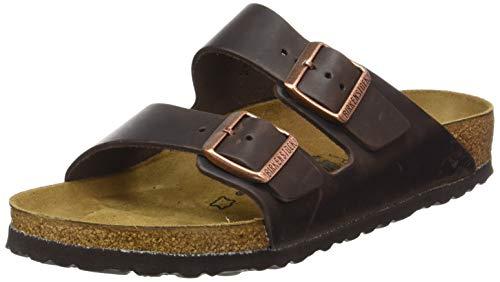 Birkenstock Men´s Arizona Dark Brown Synthetic Sandals 41 EU (M8/L10 US) N...