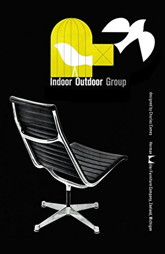 vps MID CENTURY 1950'S HERMAN MILLER EAMES CHAIR ADVERTISEMENT A3 POSTER RE PRINT