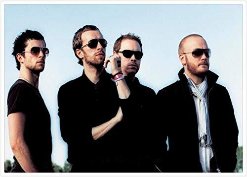 Hesuz Leinwand Bilder 50x70cm Kein Rahmen Rockband Musik Coldplay Poster und druckt Home Decor Geschenk