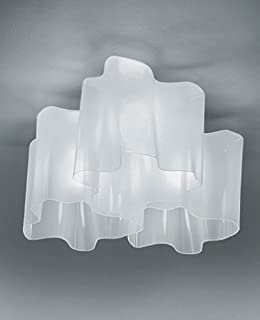 Logico triple nested ceiling light - 220 - 240V (for use in Australia, Europe, Hong Kong etc.), Incandescent
