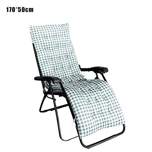 Lvhan Auflagen für Gartenliegen - Gartenstuhl Auflage,Liege Stuhl Polster Auflage Liegestuhl Stuhlkissen Anti-Rutsch für Sonnenliege 170x50cm 125x50cm