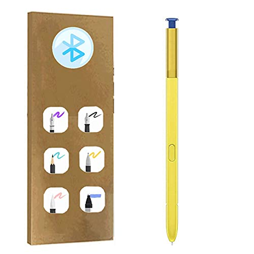 Touch Screen Stylus S Pen Replacement + Bluetooth for Samsung Galaxy Note9 Note 9 N960 F/DS U U1 N W X N9600/DS 6.4inch All Versions (Ocean Blue)