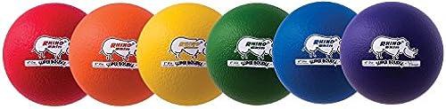 Champion Sports Rhino Skin Super High Bounce Dodgeballs