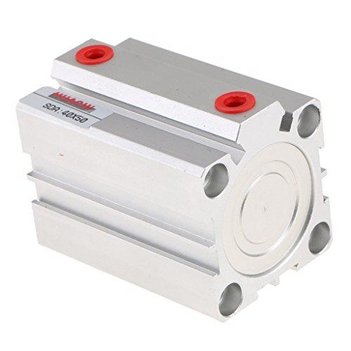 oshhni Cilindro de Aire Fino Serie SDA40 Cilindro Neumático Diámetro 40 Mm SDA40x50