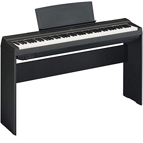 YAMAHA P125 88-Key Weighted Action Digital Piano with L125B Keyboard Furniture Stand