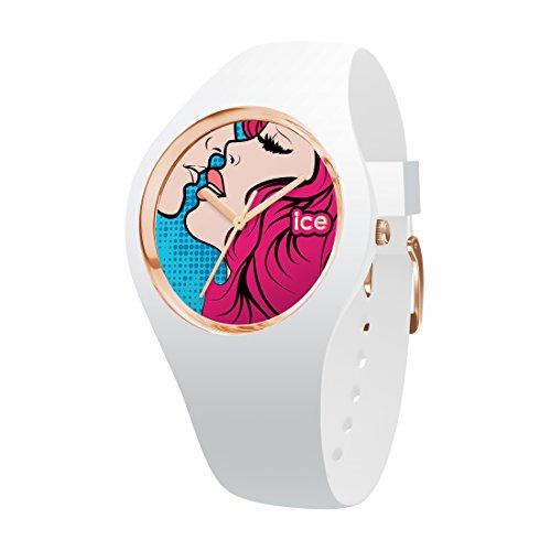 Ice-Watch - ICE love Kiss - Women's wristwatch with silicon strap - 015266 (Medium)
