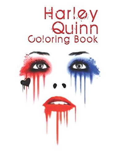 417RPRzmsGL Harley Quinn Coloring Books