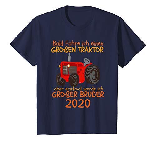 Kinder Großer Bruder 2020 Traktor Trecker Geschenk Bauernhof T-Shirt