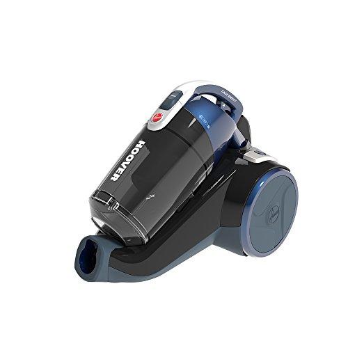 Hoover RC50PAR Aspirapolvere Senza Sacco 4A+, 550 W, 2 Litri, 75 Decibel, Tubo telescopico in Metallo, Blu