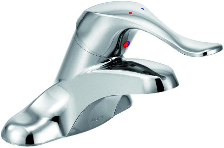 Moen 8400 Commercial M-Bition 4-Inch Centerset Lavatory Faucet 1.5 gpm, Chrome by Moen