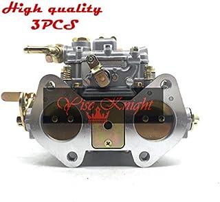 yise-K0326 New 3pcs fajs 40mm 40 dcoe 40DCOE carb carburetor replace Weber Solex dellorto EMPI CARBY 3 carbs w air horns D...