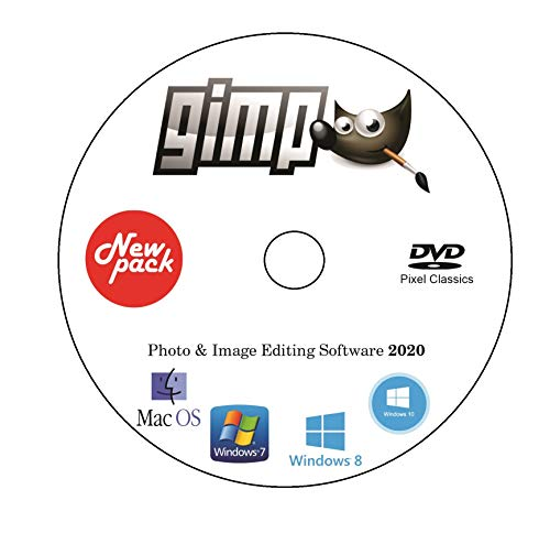 New GIMP Photo Editor Premium Professional Image Editing Software for PC Windows 10 8.1 8 7 Vista XP PhotoShop Replacement