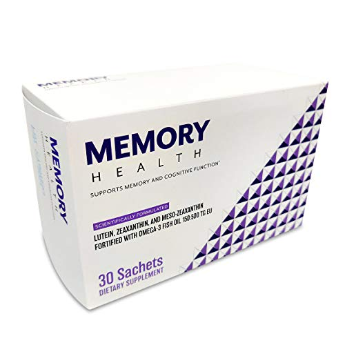 Memory Health – Premium Nootropic Supplement for Cognitive Function and Memory – Clinically Proven to Support Brain Health – Improve Mental Focus and Clarity – All Natural Ingredients