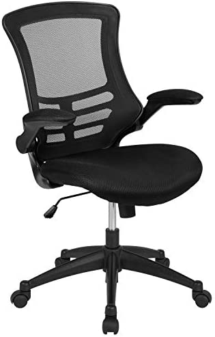 Best Flash Furniture Ergonomic Task Office Chair With Flip-Up Arms