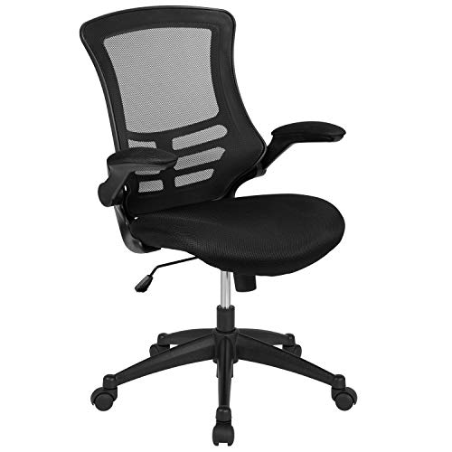 Our #1 Pick is the Flash Furniture Mid-Back Black Mesh Standing Desk Chair