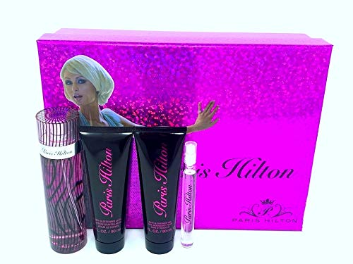 Paris Hilton 4 Piece Gift Set for Women, Heiress