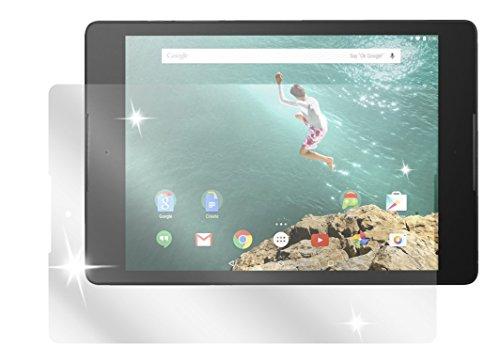 dipos I 2X Schutzfolie klar kompatibel mit HTC Google Nexus 9 Folie Bildschirmschutzfolie